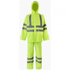 Влагозащитный костюм 2Hands повышенной видимости, лимон, XL KP1HV