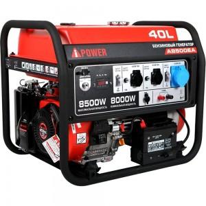 Бензиновый генератор A-iPower A8500ТEA 20115