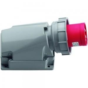 Вилка кабельная для монтажа на поверхность ABL 4Р 63А 400V, IP67 G43S35