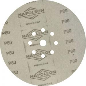 Шлифовальный круг на липучке ABRAFORM Giraffe GOLD 225 мм, 9 отв., Р80 AF-GG-80