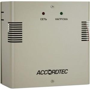 Источник вторичного электропитания ACCORDTEC резервированный 12В 3А, корпус - металл ББП-30N