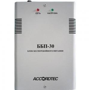 Источник вторичного электропитания ACCORDTEC резервированный 12В, 3А, защита АКБ ББП-30 исп.1