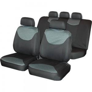Автомобильные чехлы для сидений AutoStandart BERGAMO универсальные, 9 предметов 101104