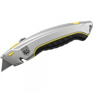 Металлический нож с трапециевидным лезвием BERGER BG1350 19мм, 4 лезвия в комплекте
