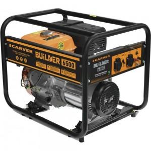 Бензиновый генератор CARVER PPG-6500 BUILDER 01.020.00019