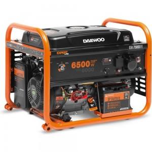 Бензиновый генератор DAEWOO GDA 7500DFE