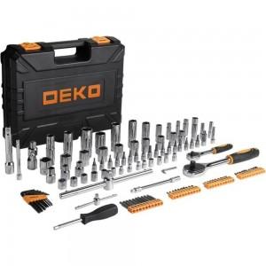 Профессиональный набор инструментов для авто DEKO DKAT121 в чемодане 065-0911