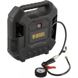 Воздушный компрессор Denzel DL1100 1,1 кВт, 180 л/мин, с набором аксессуаров 58005