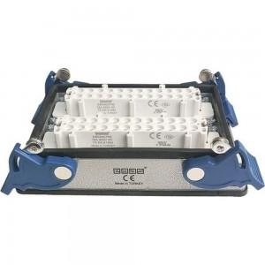 Низкая розетка Emas 4-фиксатора, для панели, 48 полюсов, 16А,400В. EBM48PM44