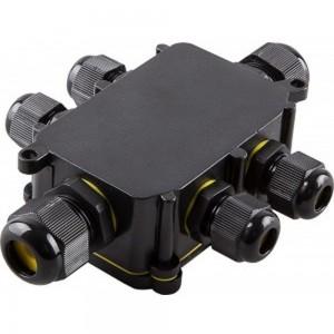 Водонепроницаемая cоединительная коробка FERON 450V, 140х100х36, LD526, 32249