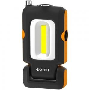 Аккумуляторный светодиодный фонарь ФОТОН рабочий WLА-400 23864