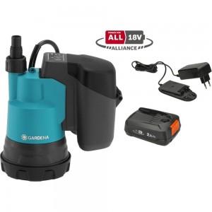 Аккумуляторный дренажный насос для чистой воды Gardena 14600-20.000.00