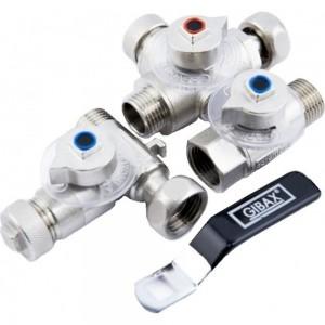 Бойлерплект для подключения и слива водонагревателя GIBAX G0040