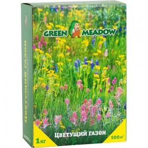 Семена газона GREEN MEADOW Цветущий мавританский газон 1 кг 4607160330860