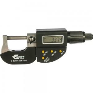 Микрометр GRIFF МКЦ 25 ГОСТ 6507-90 017112