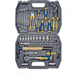 Набор инструмента 1/2 Dr и 1/4 Dr 56 предметов KRAFT KT 700303