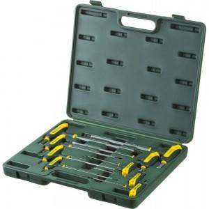 Т-образные имбусовые ключи HEX с шариком, 9шт в боксе Kraftool INDUSTRIE 27454-H9