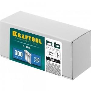Гвозди для нейлера Kraftool тип 300 50 мм 5000 шт. 31785-50