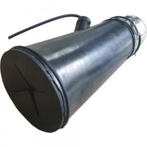 Круглая газоприемная насадка KraftWell 76 мм KRW-EN-76R