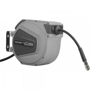 Катушка для раздачи воздуха/воды KraftWell закрытая, пластиковая, 20 м KRW1731.C7