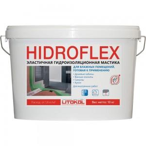 Мастика LITOKOL HIDROFLEX-гидроизол, 10 кг bucket 482570003