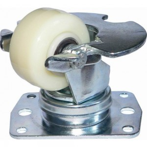 Колесо нейлоновое со стальной пылезащитой CARGO CASTER 57 мм MFK-TORG 2825-02-T