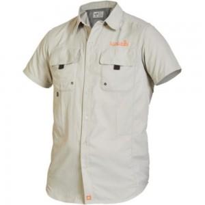 Рубашка NORFIN FOCUS SHORT SLEEVES GRAY 01 р.S 656001-S