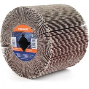 Щетка абразивная лепестковая для брашировальных машин (120х100 мм; Р 80) PATRIOT 823010023