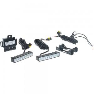 Фары PHILIPS доп. P-12831 LED DAY LIGHT 124х23мм к-т 12V /1 P-12831WLED