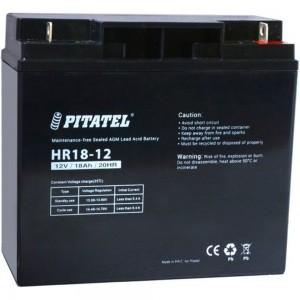 Аккумулятор Pitatel HR18-12