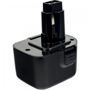 Аккумулятор (12 В; 1.5 А*ч; NiCd) для инструментов DeWALT, B&D блистер ПРАКТИКА 038-791