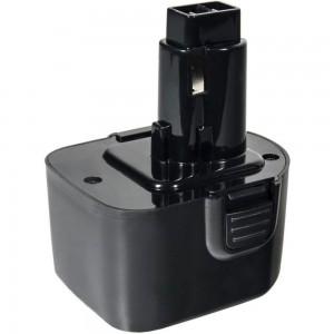 Аккумулятор (12 В; 2.0 А*ч; NiCd) для инструментов DeWALT, B&D коробка ПРАКТИКА 038-807