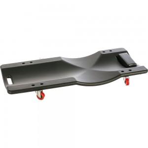 Ремонтный пластиковый подкатной лежак на 4-х колесах ROCKFORCE 400х920мм RF-TRH6803