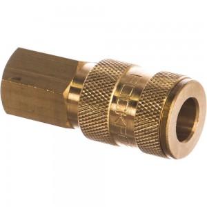 Быстроразъем пневматический с клапаном - внутренняя резьба 1/4 ROCKFORCE RF-BSE1-2SF