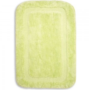 Коврик для ванной SIBO MULTISOFT 50х80 см, плюш зелёный SI31025