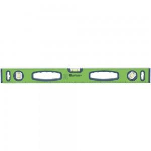 Алюминиевый фрезерованный уровень 3 глазка СИБРТЕХ УСМ-0,5-2000 34121