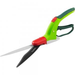 Газонные ножницы 340 мм (лезвие 130 мм, мультипозиционные) VERTO 15G302