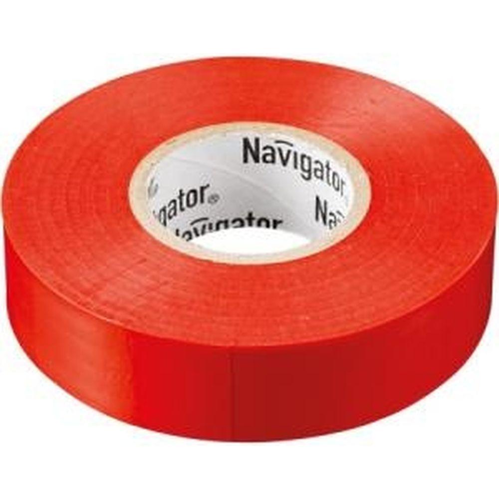 Изолента Navigator NIT-B15-10/R красная 71230