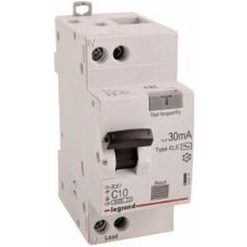 Дифференциальный автомат Legrand RX3 АВДТ 30мА 10А 1П+Н AC 419397