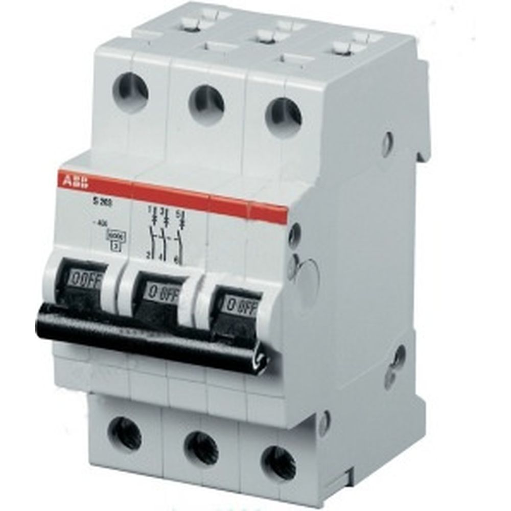 Автоматический модульный выключатель ABB 3п C S203 6кА 40А 2CDS253001R0404