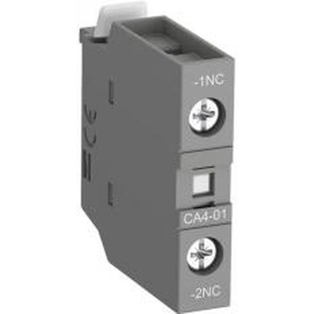 Фронтальный контакт ABB CA4-01 1НЗ, для контакторов AF09-AF38 и NF 1SBN010110R1001