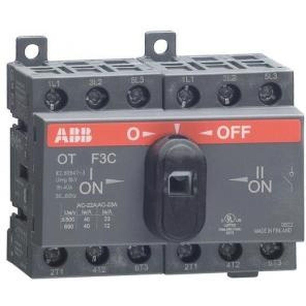 Реверсивный рубильник ABB OT25 F3C 25A 1SCA104863R1001
