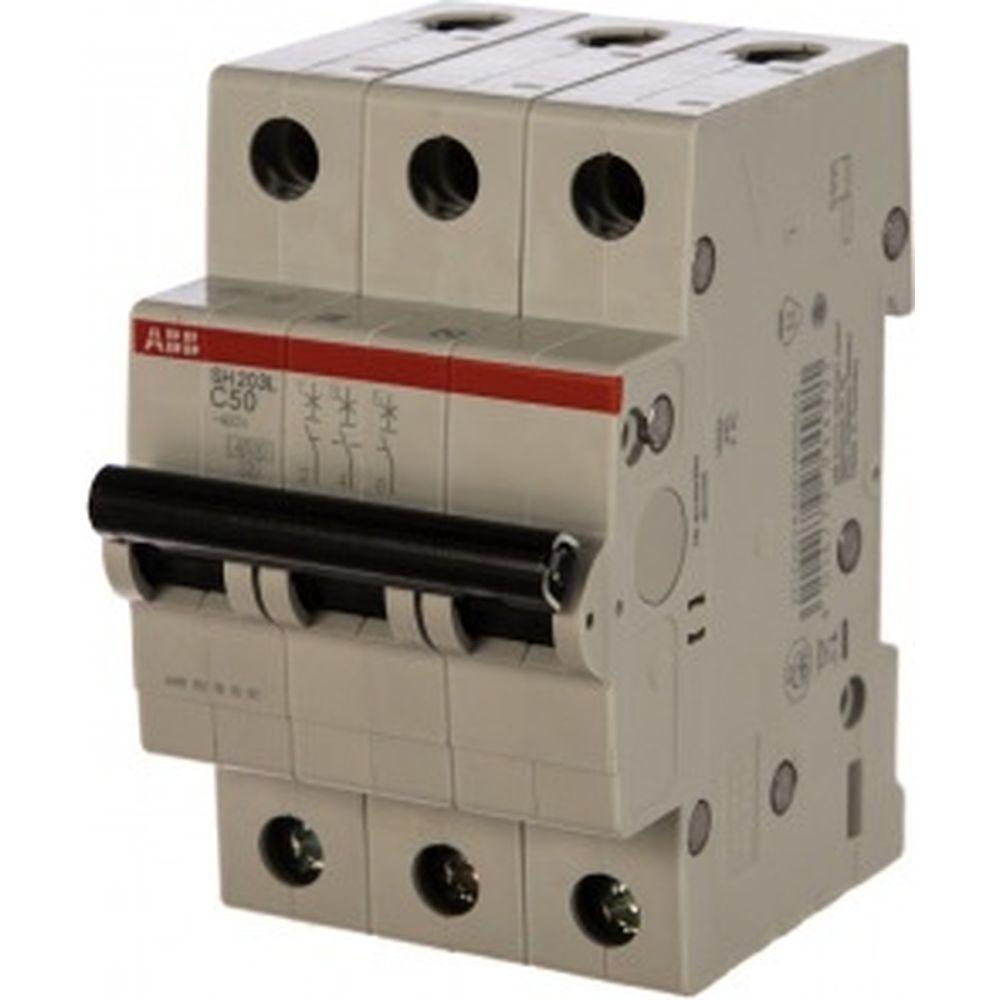 Автоматический выключатель ABB трехполюсный 50А С SH203L 4.5кА 2CDS243001R0504