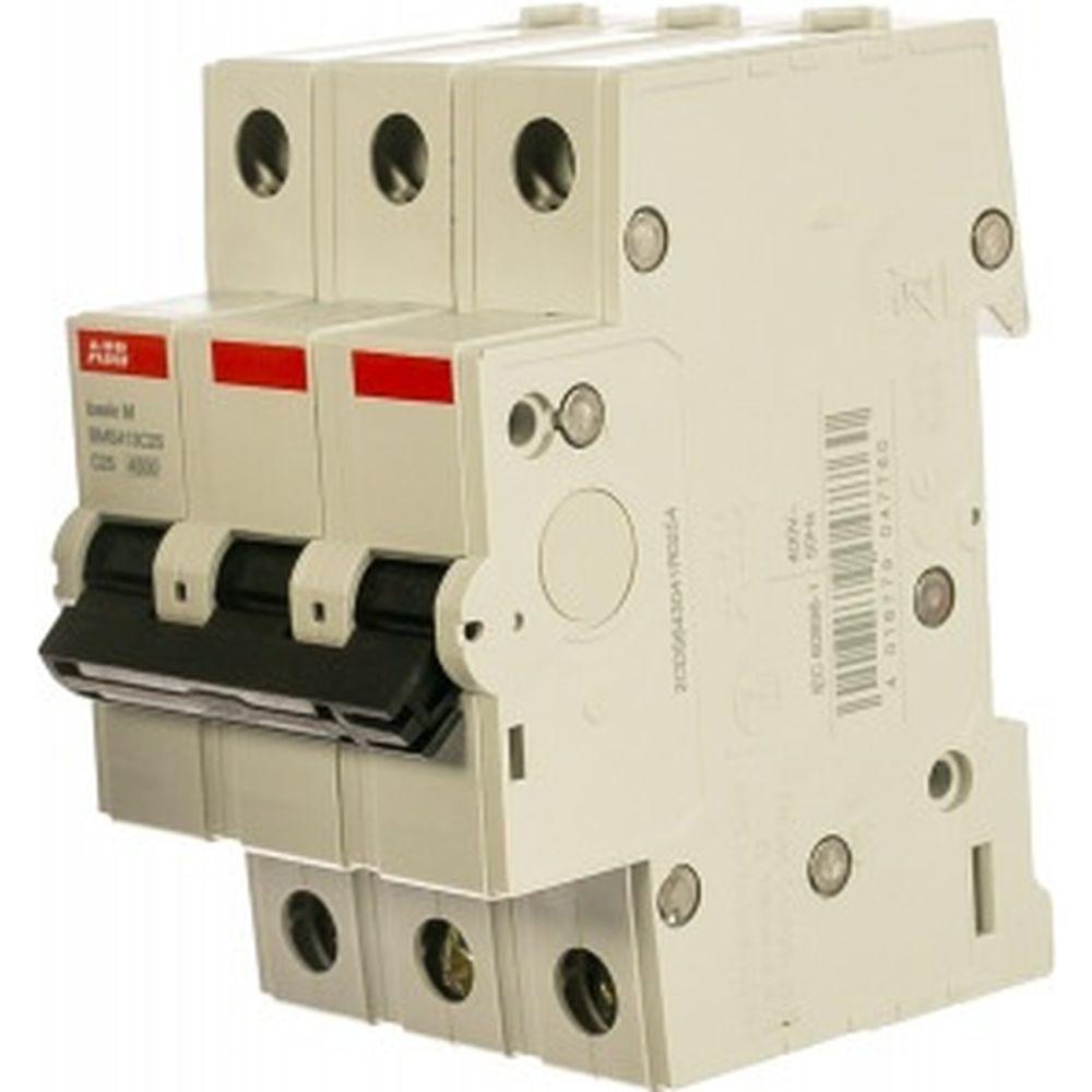 Автоматический выключатель ABB 3P 25A C 4.5кА BMS413C25 2CDS643041R0254