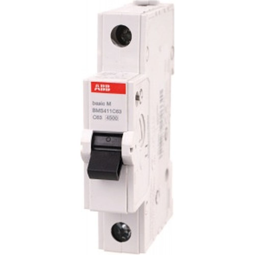 Автоматический выключатель ABB 1P 63A C 4.5кА BMS411C63 2CDS641041R0634