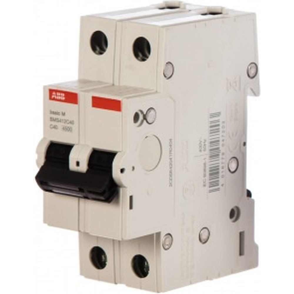 Автоматический выключатель ABB 2P 40A C 4.5кА BMS412C40 2CDS642041R0404