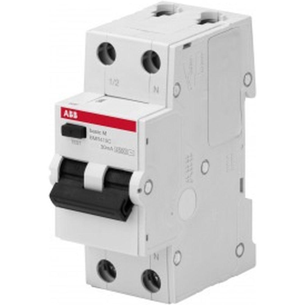 Автоматический выключатель дифференциального тока ABB 1P+N 40А C 4.5kA BMR415C40 2CSR645041R1404