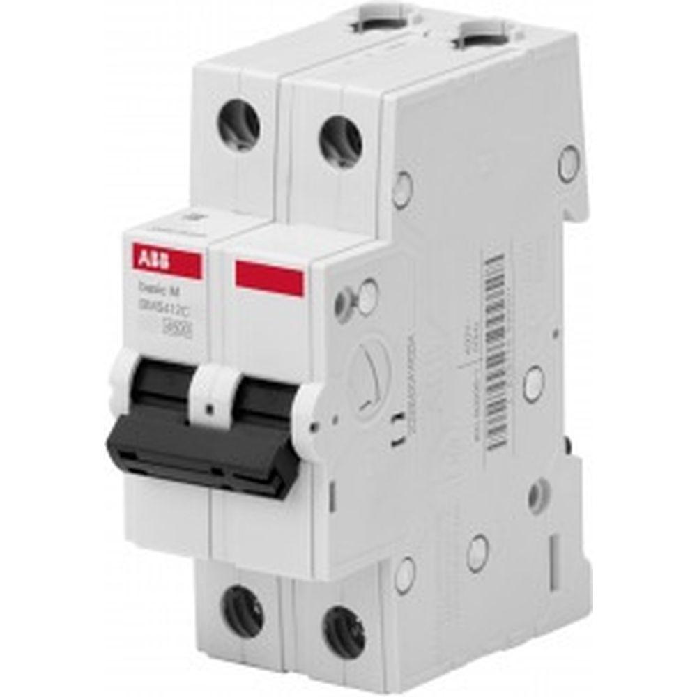 Автоматический выключатель ABB 2P 20A C 4.5кА BMS412C20 2CDS642041R0204