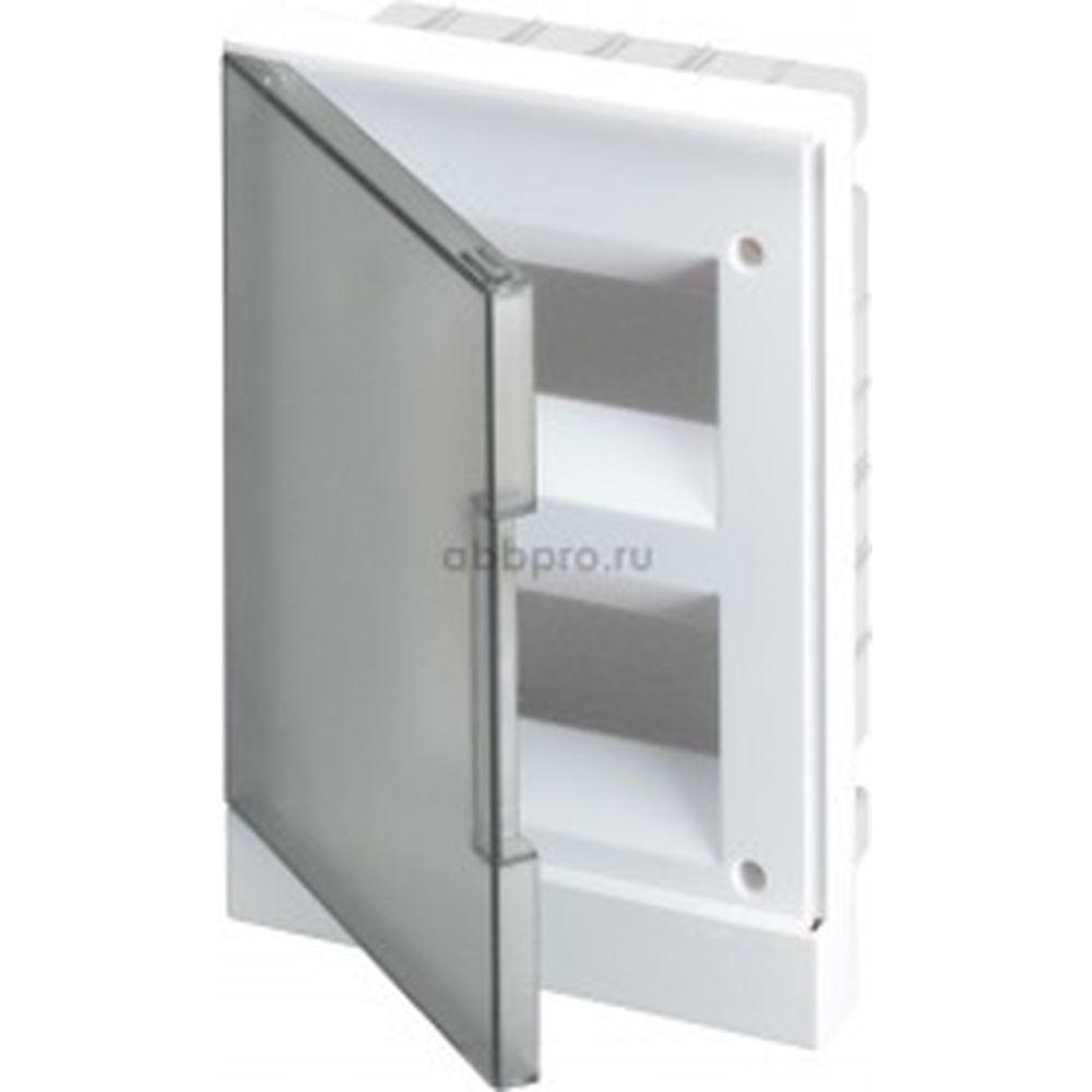 Бокс в нишу ABB 24М серая дверь Basic E с клеммами 1SZR004002A1207