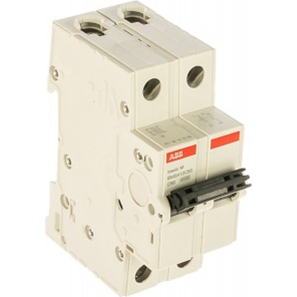 Автоматический выключатель ABB 2P, 50A, C, 4,5кА, BMS412C50 2CDS642041R0504